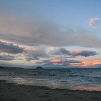 La Gallinara al tramonto